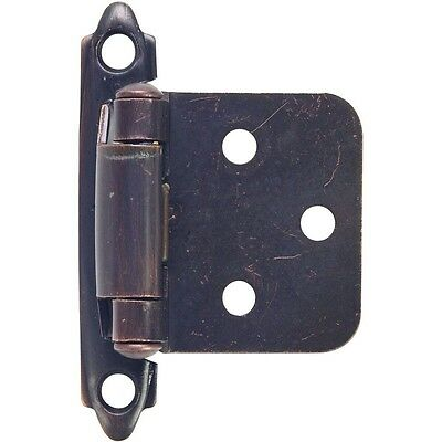 Hardware House 64-4229 Flush/Overlay Cabinet Hinges Classic Bronze