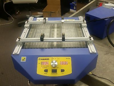 Hakko FR‑1012 Bench Top IR Infrared PCB Board Preheater 500W with 12 Bulb.