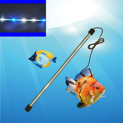 White/Blue LED Waterproof Aquarium Lamp Fish Tank LED Bar Submersible lights