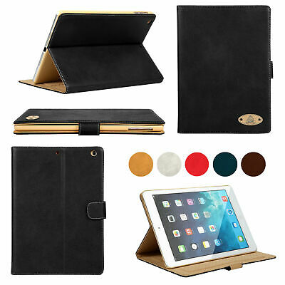 Genuine Gorilla Tech Hand Made Slim Smart Leather Case Protective Cover for iPad
