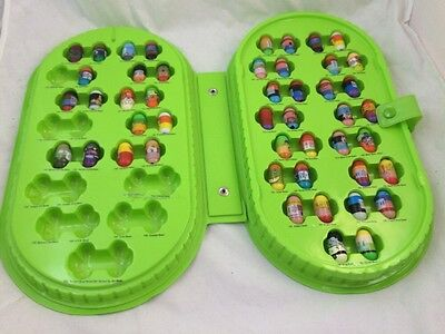 Vintage Green CASE of MIGHT BEANZ with 47 Beans Characters