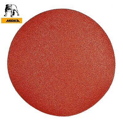 "180 mm Sanding Discs MIRKA Sandpaper 7"" 180mm Hook and Loop GRIT 40-1500"