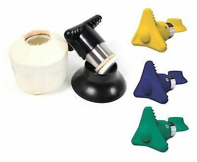 NEW COCOCUT COCONUT OPENER Cutter Driller Tool Drink BPA FREE 5 COLOURS