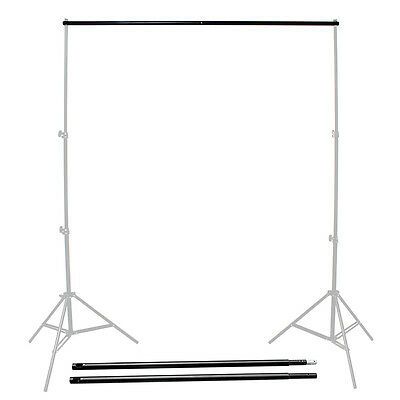 Adjustable Background Support Stand System Photo Backdrop Crossbar 3m/9.8ft Hot