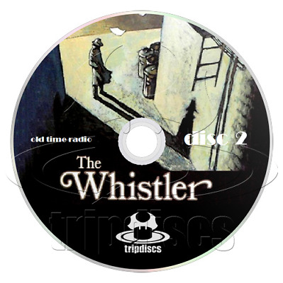 The WHISTLER (OTR) 410 Episodes (2 x mp3 CD) Old Time Radio Detective Collection