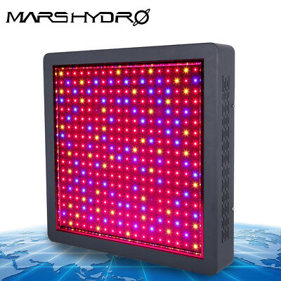 Mars II 1200W LED Grow Light Veg&Bloom Switches Hydroponics Indoor Plants Panel