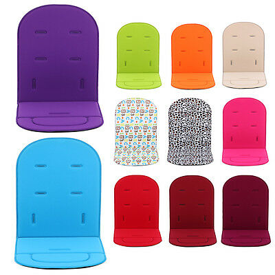 Washable Stroller Pushchair Car Seat Padding Baby Toddler Pram Liner Pad Cushion
