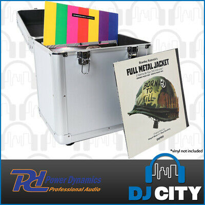 "PD RC100S Pro LP Record Road Case - Holds 100 12"" Records - Great for Vinyl DJs"