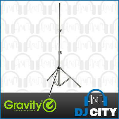 Gravity Heavy-Duty 3m Max Height Speaker and Lighting Tripod Stand - 30kg Load