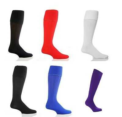 Football Socks Soccer Hockey Rugby Sports Socks PE Mens/Womens Boys/Girls