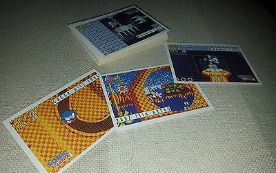 Sonic the Hedgehog  - Trading Card Set (33/33) TOPPS - 1993 - NM