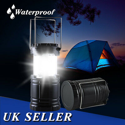 30 LED Portable Camping Camp Lantern Light Lamp Tent Fishing Outdoor Waterproof