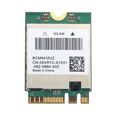 Broadcom BCM94352Z DW1560 NGFF 802.11AC Wifi Bluetooth 4.0 For Mac Hackintosh