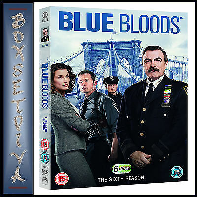 Blue Bloods - Complete Season 6  *Brand New Dvd **