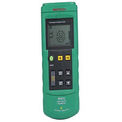 Wall/Underground Cable Tracer Wire Line Detector Locator AC/DC Voltmeter