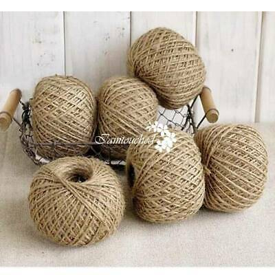 50Yards Kingfisher Heavy Duty Jute Garden Tie Back String Twine Rope Toy L Ball