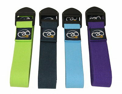 Fitness Yoga Mad 2M Deluxe Cotton Belt Pilates Training Various Colour *BNWT*