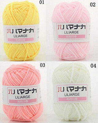 Four shares infant child milk cotton hand-woven coarse Wool colors Yarn Woolen
