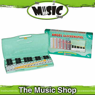 New Angel AX27NG 27 Note Chromatic Glockenspiel with Case & Beaters