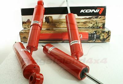 "Land Rover Discovery +2"" KONI Heavy Track Raid Off Road Adjustable Shocks"