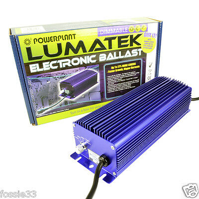 Lumatek 600W New 2016 Model Digital Electronic Dimmable Ballast