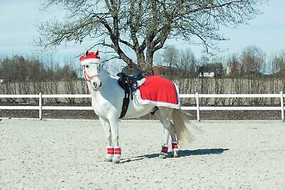 Horze Spirit Christmas Santa Reindeer Fancy Dress Horse & Rider Outfit