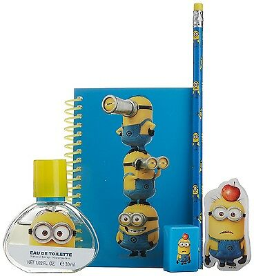 Minions Set Eau de Toilette 30 ml and Stationery Set. Shipping Included