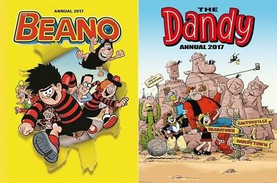 The Beano & The Dandy Annuals 2017 - 2 Book Set - RRP: £15.98