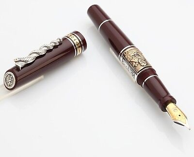 MARLEN IPPOCRATE Fountain pen Gold Plated Nib (various colours)
