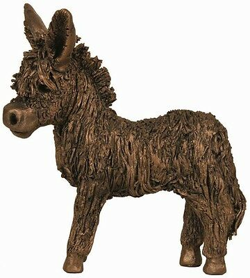 'Donkey Foal Standing' Beautiful Bronze Sculpture from Frith by Veronica Ballan