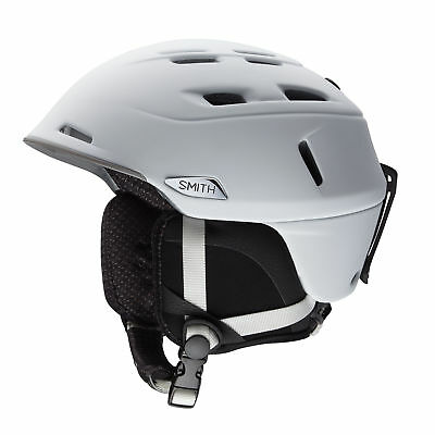 Smith Men's Camber Snow Ski Bike Helmet Matte White