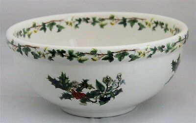 New- Portmeirion -Holly And The Ivy  Vegetable Dish/salad Serving Bowl  - Mint C