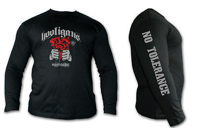 Long-sleeved t-shirt MMA HOOLIGAN Ideal for Training,MMA Fighters,Casual wears