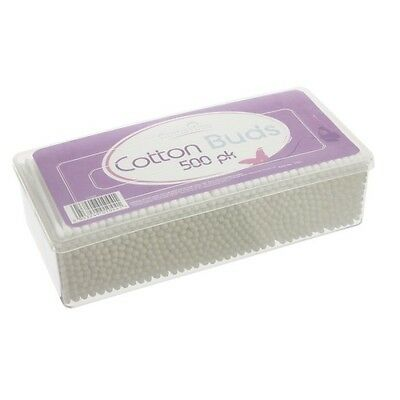 500 Pack New Cotton Tree Double Ended White Cotton Buds