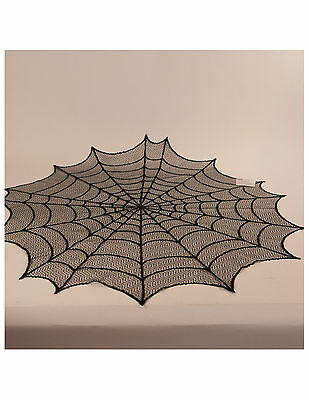 "Heritage Lace ""Spider Web Topper 30"" Round HW3000B 