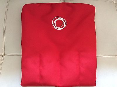 Red Bugaboo Cameleon Fleece Stroller Toddler seat cover Fabric liner baby new