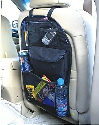 Kabalo Universal Back Seat Car Organiser with Drinks / Umbrella Holder and 7 sep