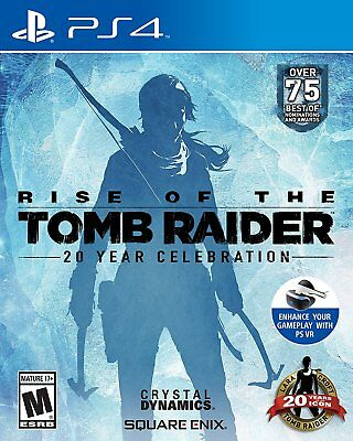 NEW Rise of the Tomb Raider: 20 Year Celebration (Sony PlayStation 4, 2016)