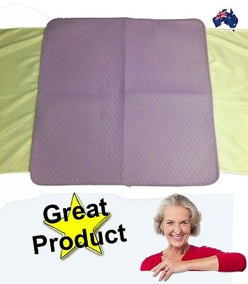 Bed Pad / Mattress Protector Large  98cm x 96cm Incontinence Bed Wetting