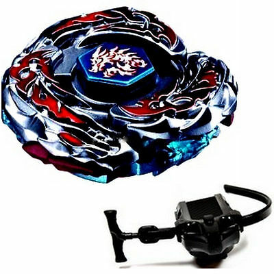 L-Drago Destroy Beyblade 4D Top Metal Fusion Fight Master New + Launcher