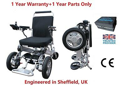 Powa9-10 Folding Electric Wheelchair Powerchair Mobility Travel Aid