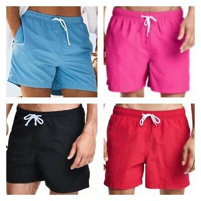 Mens New Swimming Shorts Quick Dry Trunks Swimwear Beach Summer Boys ex-H&M