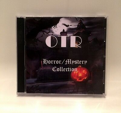 Old Time Radio Horror / Mystery COLLECTION (OTR Audiobooks) Halloween Party Gift