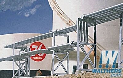 Walthers **** Refinery Piping Kit ****** HO Model Trains #933-3114