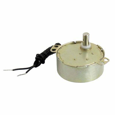 Microwave Synchronous Motor 5/6RPM AC 220-240V 50/60Hz Black Cable WD