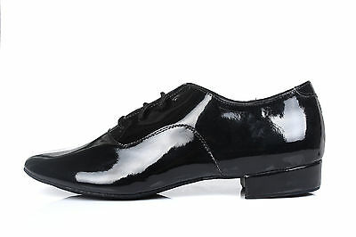 Adult men  ballroom latin salsa tango dance shoes black color 2.5cm and 4cm heel