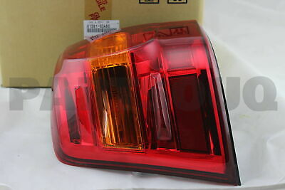 8156160A60 Genuine Toyota LENS & BODY, REAR COMBINATION LAMP, LH 81561-60A60