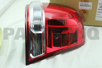 8155160820 Genuine Toyota LENS & BODY, REAR COMBINATION LAMP, RH 81551-60820