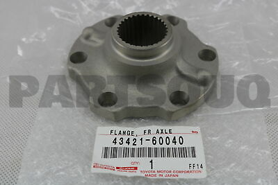 4342160040 Genuine Toyota FLANGE, FRONT AXLE OUTER SHAFT 43421-60040