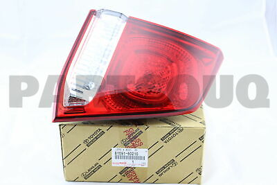 8159160210 Genuine Toyota LENS AND BODY, REAR LAMP, LH 81591-60210